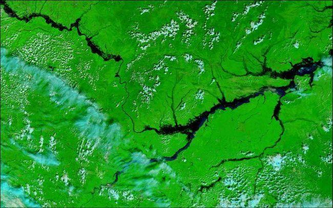 Велика вода на річці Амур
