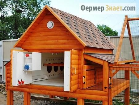 Покупної зимовий курник