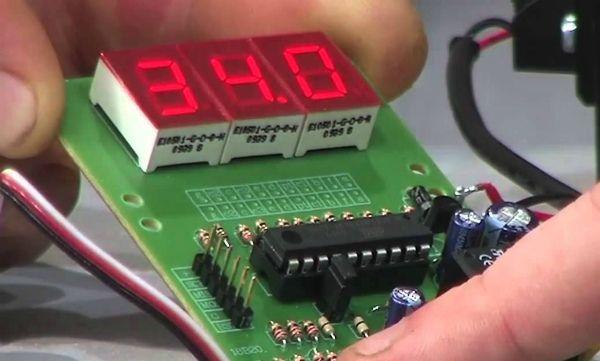Саморобний контролер температури для інкубатора