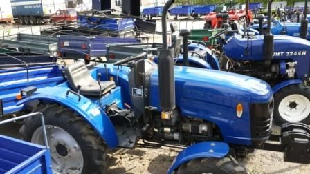 Робимо, трактор з мотоблока своїми руками
