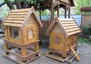Декоративні будиночки для домашніх кроликів фото