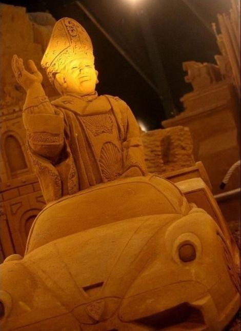 Фестиваль піщаних скульптур у Бланкенберге