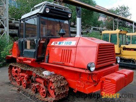 Гусеничний трактор вт-150 - сучасний еталон якості