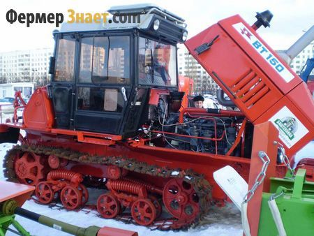 пристрій трактора