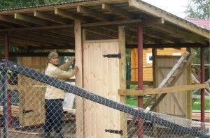 Матеріали для будівництва пташника