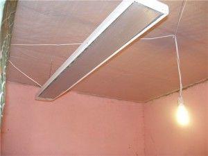Фото електричного обігрівача в курнику