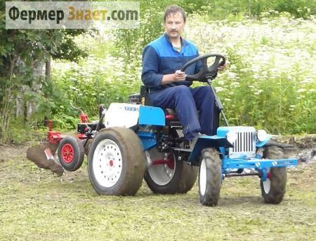 Як переробити мотоблок нева в міні-трактор