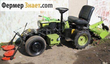Міні-трактор з мотоблока