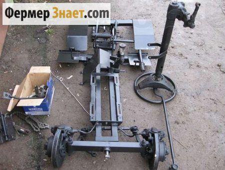 Рама для міні-трактора