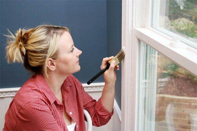 Як пофарбувати вікна