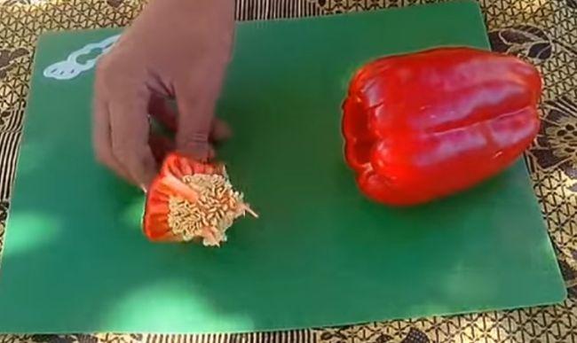 Як заготовити насіння перцю
