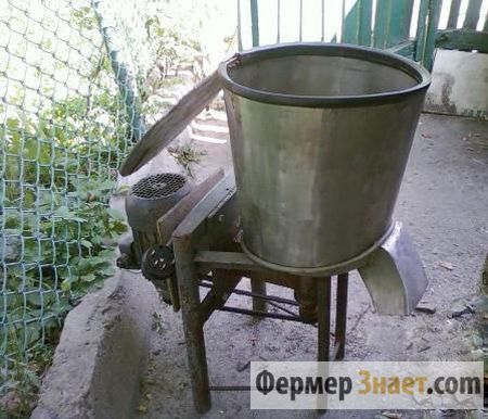 Як самостійно виготовити корморезка