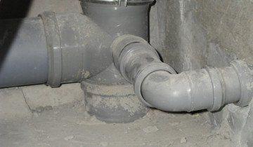 Фото каналізаційного стояка, eto-vannaya.ru