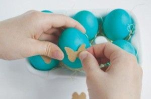 Як прикрасити яйця на великдень своїми руками фото