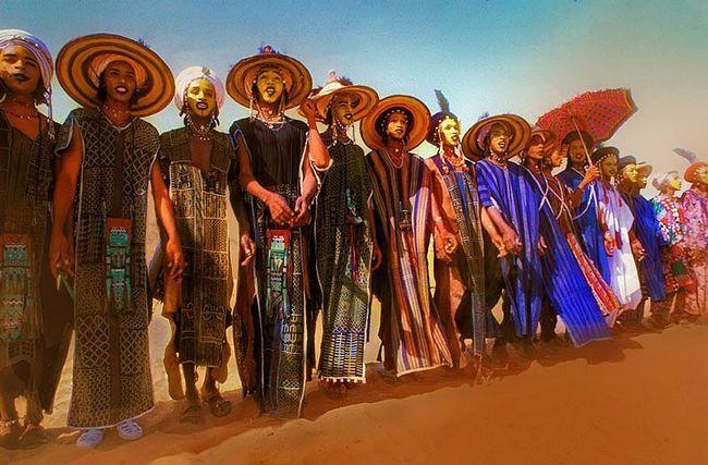 Як в Сахарі вибирали найкрасивішого чоловіка