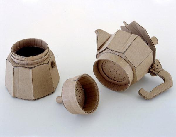 Картонні скульптури від Chris Gilmour