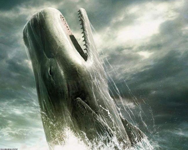 Іноді цей підводний гігант виринає з води.