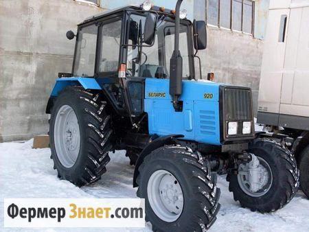 Колісний трактор мтз 920: економний і практичний