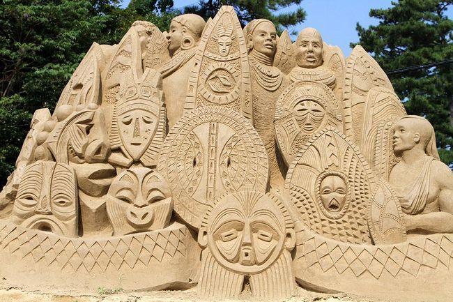 Музей піщаних скульптур у Японії