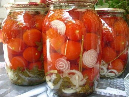 Консервування помідорів, рецепти на зиму