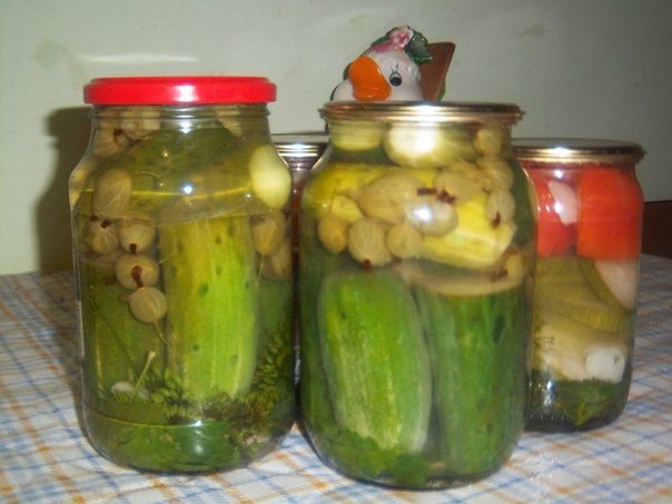 мариновані огірки