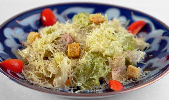 Вегетаріанський салат «Цезар».