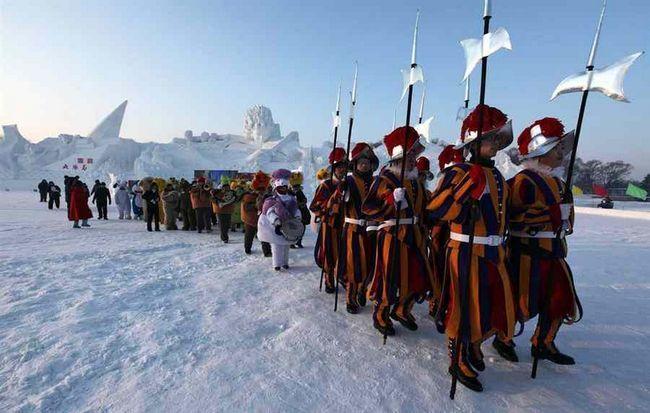 Міжнародний фестиваль льоду і снігу в Харбіні