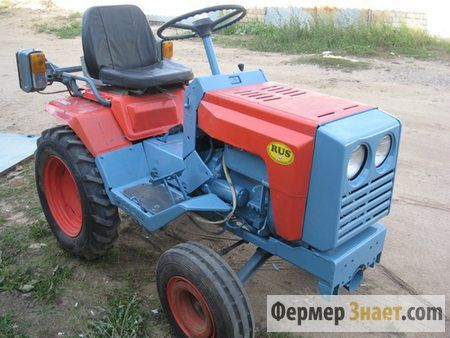 Міні-трактор кмз-012: коротко про головне