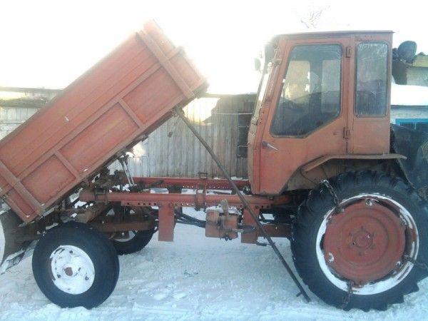 Модернізація трактора т-16