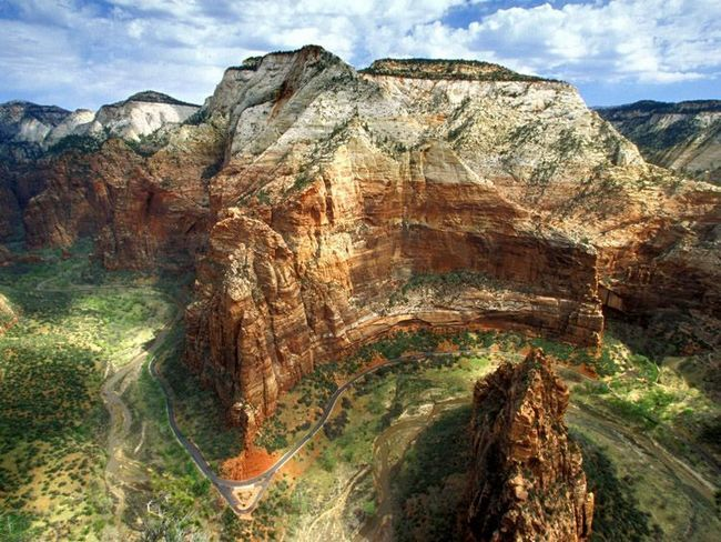 Вид на гору Сходження Ангела.