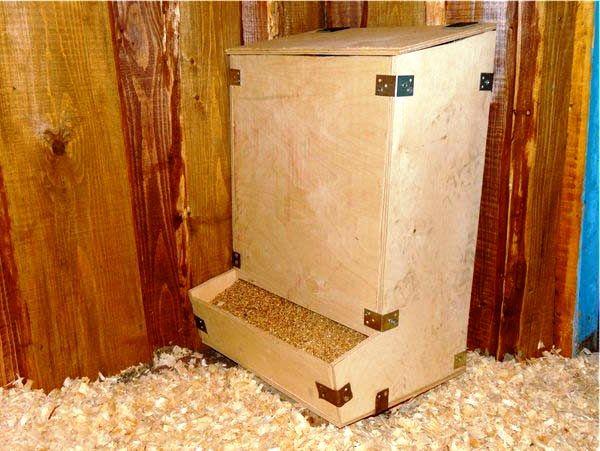 Конструкція для годування бункерного типу