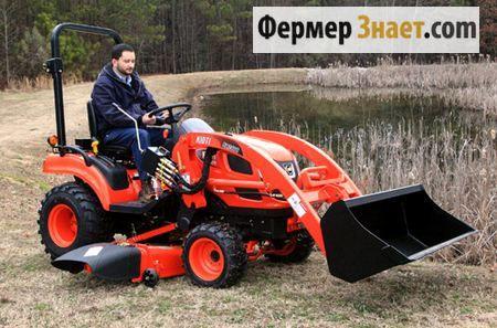 Міні-трактор Kioti-CS2410