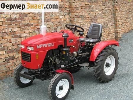 Все чим хороші міні-трактора серії уралець