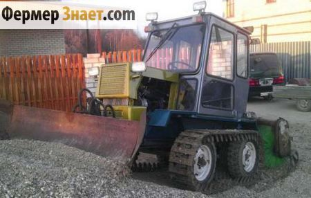 Гусеничний міні-трактор Т-0.2