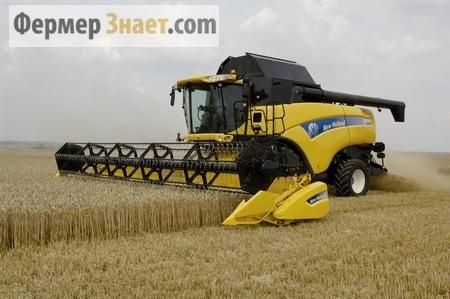 Збирання врожаю пшениці