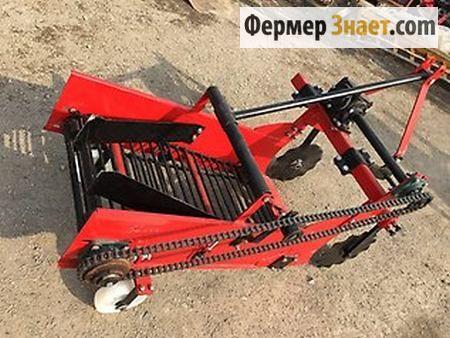 Огляд популярних моделей картоплекопачів і картоплесаджалок для міні-трактора