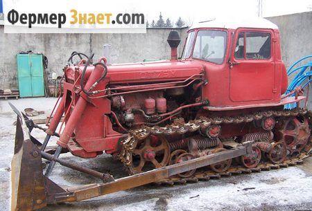 Гусеничний трактор ДТ-75М