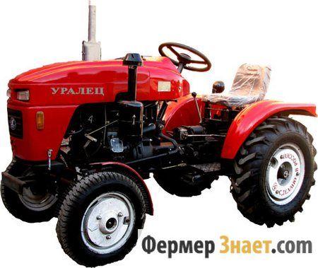 Особливості та технічні характеристики міні-трактора уралець 160
