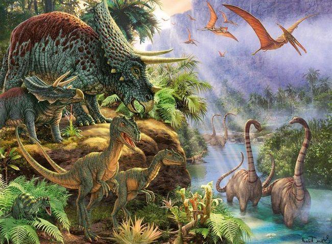 В Іспанії виявлені останки 6 різних видів динозаврів.