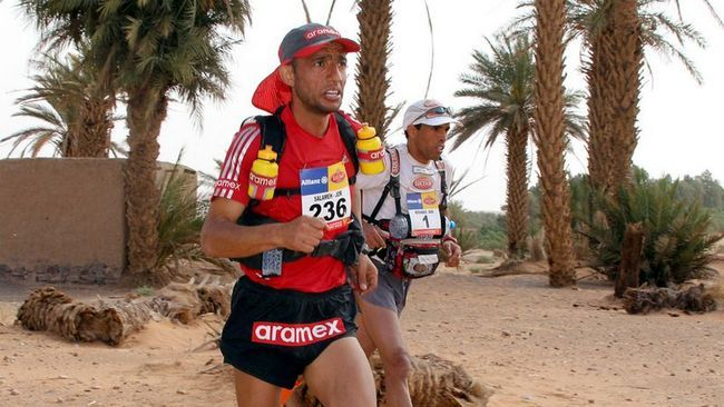 Піщаний марафон (Marathon des Sables) - 2011