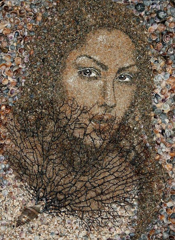 Пісочна мозаїка художниці Світлани Іванченко
