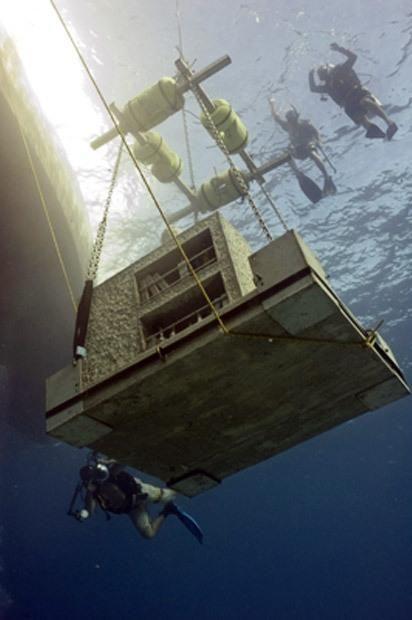 Підводний парк скульптур Джейсона Тейлора.