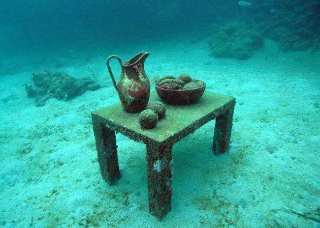 Скульптури розміщені в мілководді, щоб до них легко можна було дістатися при зануренні з аквалангом, з трубкою або плаваючи на прогулянковому кораблі зі скляним дном. Глядачі запрошуються розкрити і дізнатися красу нашого підводного планети і оцінити процес еволюції рифа.