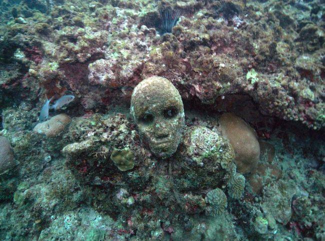 Процес створення скульптур під водою кардинально відрізняється від наземних скульптур. Існують фізичні і оптичні умови, які необхідно враховувати.