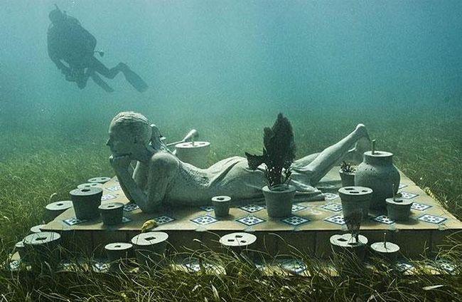 Морський національний парк біля узбережжя Канкуна привертає близько 750 000 відвідувачів щороку.