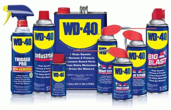 Корисні поради: незвичайні способи використання wd-40