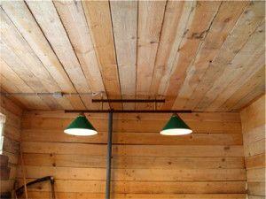 Фото подвійний лампи в курнику