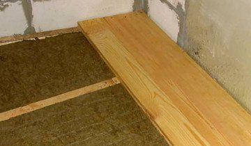 Теплоізоляція для бетонної підлоги мінеральною ватою, ultra-term.ru