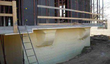 Утеплення фундаменту дерев`яного будинку пінополіуретаном, teploguru.ru