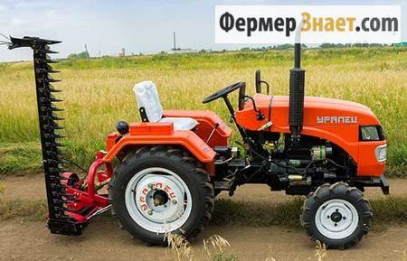 Різновиди косарок для міні-тракторів